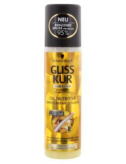 Schwarzkopf Gliss Kur Express-Repair-Sp�lung Oil Nutritive  (200 ml) - 4015000985321