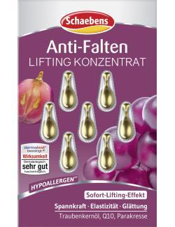 Schaebens Anti-Faltern Lifting Konzentrat  (7 St.) - 4003573022024