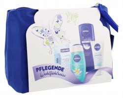 Nivea Geschenkset Dusche + gratis Kosmetiktasche, f�r Frauen  - 4005900172075