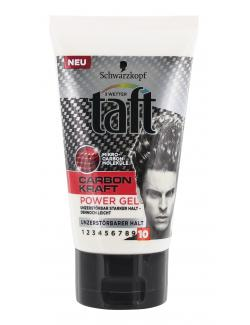 Schwarzkopf 3 Wetter Taft Carbon Kraft Power Gel  (150 ml) - 4015001003123