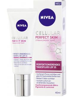 Nivea Cellular Perfect Skin perfektionierendes Tagesfluid LSF 15  (40 ml) - 4005900131744