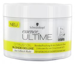 Schwarzkopf Essence Ult�me Blonde Deluxe Anti-Gelbstich Maske  (200 ml) - 4015001006292