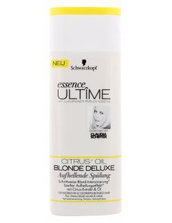 Schwarzkopf Essence Ult�me Blonde Deluxe aufhellende Sp�lung  (250 ml) - 4015001006261