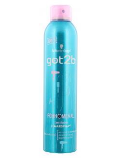 Schwarzkopf got2b F�hnomenal fast finish Haarspray  (300 ml) - 4015001005875