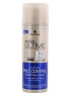 Schwarzkopf Styliste Ult�me Satin Frizz Control Anti-Frizz Lotion  (150 ml) - 4015001006490