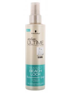 Schwarzkopf Styliste Ult�me Sea Salt Beach Look texturierendes Spray  (200 ml) - 4015001006575