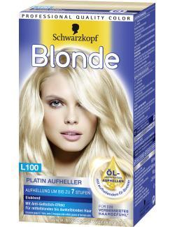 Schwarzkopf Blonde Platin Aufheller L100 eisblond  (180 ml) - 4015001007862