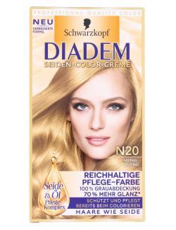 Schwarzkopf Diadem Seiden-Color-Creme N20 honigblond  (142 ml) - 4015001010152