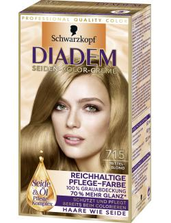 Diadem Seiden-Color-Creme 715 mittelblond  (142 ml) - 4015001010244