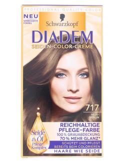 Schwarzkopf Diadem Seiden-Color-Creme 717 hellbraun  (142 ml) - 4015001010343