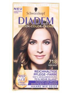 Schwarzkopf Diadem Seiden-Color-Creme 718 haselnuss  (142 ml) - 4015001010282