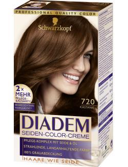 Schwarzkopf Diadem Seiden-Color-Creme 720 kastanie  (142 ml) - 4015001010169