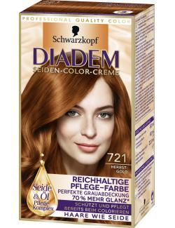 Schwarzkopf Diadem Seiden-Color-Creme Herbstgold 721  (142 ml) - 4015001010213