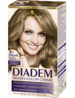 Schwarzkopf Diadem Seiden-Color-Creme 722 dunkelblond  (142 ml) - 4015001010329