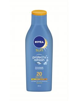 Nivea Sun Protect & Refresh Sonnenlotion wasserfest LSF 20  (200 ml) - 4005900116345