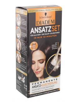 Schwarzkopf Diadem Ansatzset A4 dunkelbraun  (22 ml) - 4015001010114