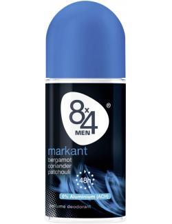 8x4 Men Markant Deo Roller  (50 ml) - 42283317