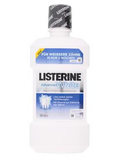 Listerine Mundspülung Advanced White  (500 ml) - 3574661203577