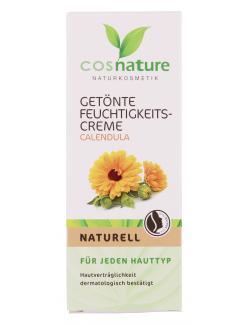 Cosnature Get�nte Feuchtigkeitscreme Calendula naturell  (50 ml) - 4260370430562