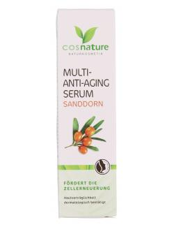 Cosnature Multi-Anti-Aging Serum Sanddorn  (30 ml) - 4260370430586