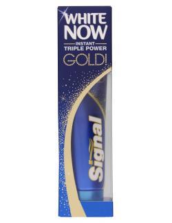 Signal Zahnpasta White Now Gold  (75 ml) - 8712561930598