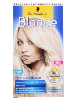Schwarzkopf Blonde Platin Aufheller L101 silberblond  (170 ml) - 4015001007916