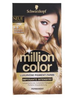 Schwarzkopf Million Color Luxuriöse Pigment-Farbe 9-5 goldenes Honigblond  (126 ml) - 4015000981231