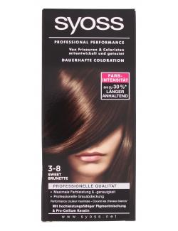Syoss Professional Performance Coloration 3-8 sweet brunette  (115 ml) - 4015000911320
