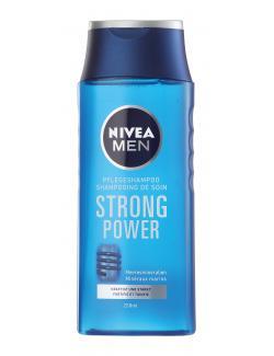 Nivea Men Strongpower Pflegeshampoo  (250 ml) - 4005900137791