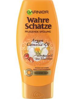 Garnier Wahre Schätze nährende Spülung Argan- und Camelia-Öl  (200 ml) - 3600541875388