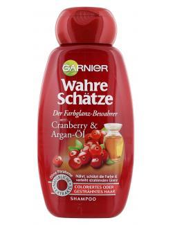Garnier Wahre Schätze Farbglanz-Shampoo Cranberry und Argan-Öl  (250 ml) - 3600541875289