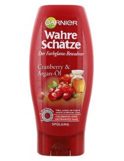Garnier Wahre Schätze Farbglanz-Spülung Cranberry und Argan-Öl  (200 ml) - 3600541875371