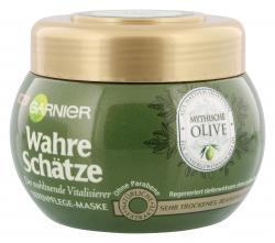 Garnier Wahre Schätze vitalisierende Tiefenpflege Maske Olive  (300 ml) - 3600541875302