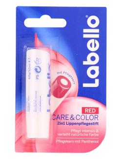 Labello Care & Color red  (1 St.) - 4005900193360