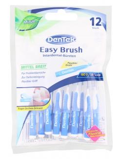 DenTek Easy Brush Interdental-Bürsten mittel breit Minze  (12 St.) - 47701138557