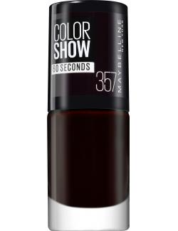 Maybelline New York Colorshow Nagellack 357 burgundy kiss  (7 ml) - 30096950