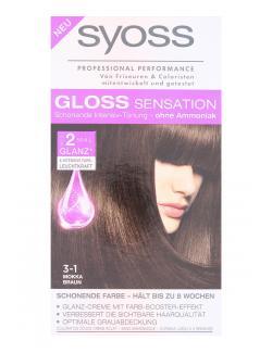 Syoss Gloss Sensation Intensiv Tönung 3-1 Mokka Braun  (115 ml) - 4015100182026