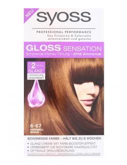 Syoss Gloss Sensation Intensiv-T�nung 6-67 Karamell Braun  (115 ml) - 4015100182057