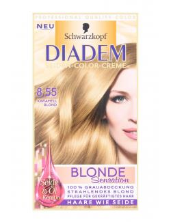 Schwarzkopf Diadem Seiden-Color-Creme 8.55 karamellblond  (142 ml) - 4015001014112