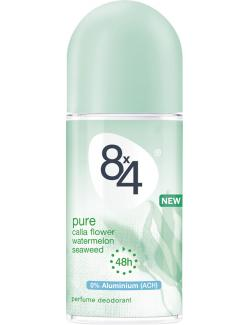 8x4 pure Deo Roller  (50 ml) - 42300014