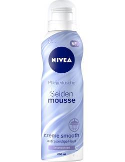 Nivea Pflegedusche Seidenmousse creme smooth Seidenextrakt  (200 ml) - 4005900121981