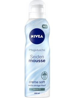 Nivea Pflegedusche Seidenmousse creme soft  (200 ml) - 4005900121943