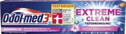 Odol med 3 Extreme Clean Zahncreme Tiefenreinigung  (75 ml) - 5054563007995
