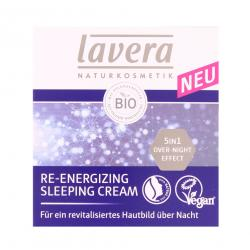 Lavera Re-Energizing Sleeping Cream  (50 ml) - 4021457618866