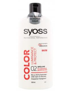 Syoss Color Luminance & Protect Sp�lung  (500 ml) - 4015100183733