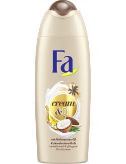 Fa Cream & Oil Duschgel Kakaobutter mit Kokosöl  (250 ml) - 4015100182422