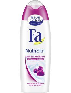 Fa NutriSkin Duschcreme Duft der Acaibeere  (250 ml) - 4015100182279