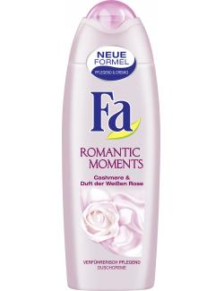 Fa Romantic Moments Duschcreme Cashmere & Duft der wei�en Rose  (250 ml) - 4015100182453