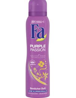 Fa Purple Passion Deodorant sinnlicher Duft  (150 ml) - 4015100180992
