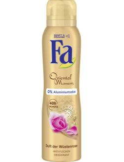 Fa Oriental Moments Deospray Duft der W�stenrose  (150 ml) - 4015100180749